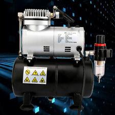 Airbrush Kompressor Luft Kompressoren 3L Einzylinder Abschaltautomatik 1/6 PS DE