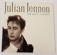 JULIAN LENNON - NOW YOU'RE IN HEAVEN - 3 INCH CD SINGLE