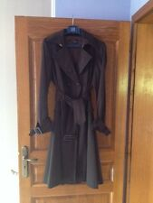 Trench  ZARA Basic. taille L. Couleur chocolat glacé.