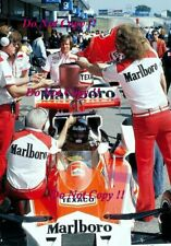 James Hunt McLaren M23 Winner Spanish Grand Prix 1976 Photograph 2