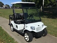 2017 tomberlin emerge E2-AC 4 passenger seat golf cart 48v street legal lsv fast