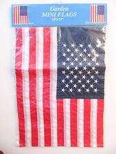 New Garden Patriotic American Mini-Flag 12x17