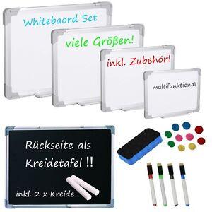 """CLASSIC"" Whiteboard Blackboard Magnettafel Kreidetafel Schreibtafel weiß Tafel"