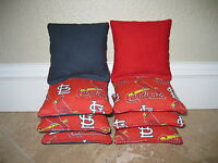 St. Louis Cardinals Cornhole Bags, Baggo, Corn Toss, Corn Hole, Bag Toss, NCAA