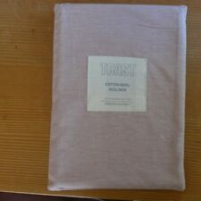 toast pillowcase cotton marl standard housewife ORGANIC Dusky Rose 3