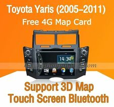 Car Multimedia Player for Toyota Yaris 2005-2011 DVD GPS Navigaiton Radio Stereo