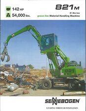 Equipment Brochure - Sennebogen - 821M - Scrap Material Handling Crane (E3572)
