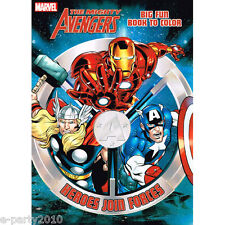 THE MIGHTY AVENGERS COLORING and ACTIVITY BOOK ~ Superhero Birthday Party Supply