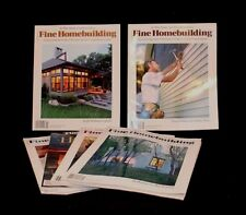 LOT OF 6 FINE HOMEBUILDING NO 145-150 MAGAZINE HAND CRAFTED WOODWORKING TOOLS