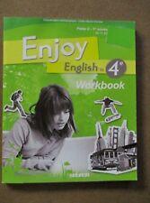 Enjoy English 4ème Workbook Palier 2 -1re année A2  B1  /ZA42