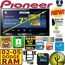 02 03 04 05 RAM PIONEER BLUETOOTH TOUCHSCREEN USB AUX BT VIDEO CAR STEREO RADIO