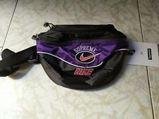 Supreme Nike Shoulder Bag Purple Viola Marsupio