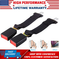 "14"" Universal Car Safety Seat Belt Extender Seatbelt Extension Strap 7/8"" Buckle"