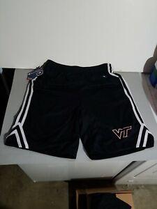 Virginia Tech Basketball Shorts,  Pockets, Mens Medium Athletic Champion New