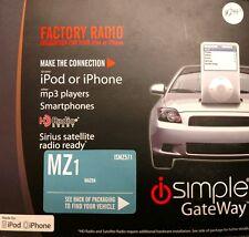 iSimple ISMZ571 GateWay Apple 30-Pin AUX for Mazda Vehicles