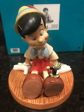 Wdcc Pinocchio And Jiminy With Box And Coa   Limited 188/750