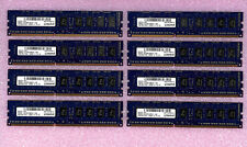 LOT 32GB (8X4GB) KINGSTON  PC3L-10600E 2Rx8 ECC KR1P74-HYC PC10600E SERVER RAM !