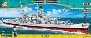 COBI  Scharnhorst   ( 4817 ) 2485  WWII   German battleship  Limited Edition