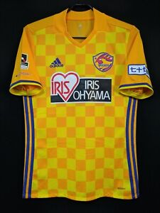 2017 Vegalta Sendai J.League Home Jersey Soccer Shirt L(Japan Size) adidas
