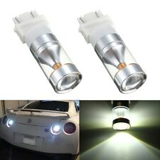 2X 30W High Power 3157 3156 Xenon White Backup Reverse CREE XB-D LED Light Bulb