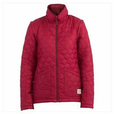 2016 Nwt Womens Billabong Beckie Insulator Jacket $110 S sangria label versatile