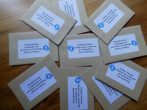 10x boy baby shower party favours a beau-tea-ful day.