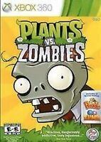 Plants vs. Zombies Xbox 360/One/X Kids Game 1 Original Versus