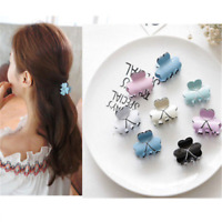 Women's Candy Color Head Hair Clips Claw Barrette Crab Clamp Hairpin Lovely