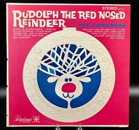 LP Rudolph the Red Nosed Reindeer The Caroleers SX 1011 ~ Christmas songs