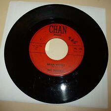 ROCK AND ROLL 45 RPM RECORD - THE SQUIRES - CHAN 105