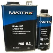 Matrix System MS-52 Universal Gallon Clear Coat Kit. MH-005 Premium Hardener-1qt