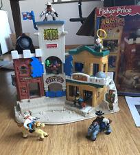 Fisher Price Great Adventures Wild Western Town & Stagecoach w/ Box 1996 77052