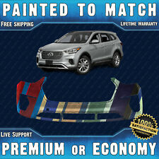 NEW Painted To Match Front Bumper for 2017 2018 2019 Hyundai Santa Fe XL