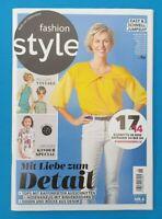 Fashion Style Juni 6/2020 mit unbenutztem Schnittmuster!!! NEU + ungelesen