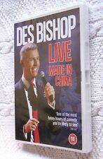 DES BISHOP LIVE - MADE IN CHINA (DVD) R- 2,4, NEW, FREE SHIPPING IN AUSTRALIA