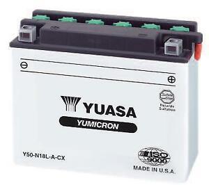 Yuasa - YUAM2218Y - Yumicron Battery, Y50-N18L-A~