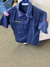 boy scout shirt youth large With Hat