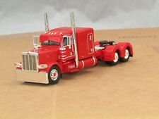 "Dcp red Peterbilt 389 63""flattop tractor new no box"