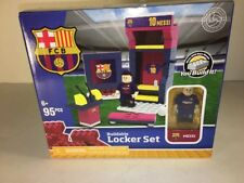 LIONEL MESSI LOCKER SET OYO BUILDABLE Toys 95pcs FC BARCELONA SOCCER FCB Fútbol