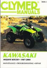 1987-2004 Kawasaki KSF250 Mojave ATV Repair Service Workshop Manual Book M3852