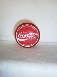 coca cola yo yo. limited edition red coca cola yo yo. part of a set of 4.