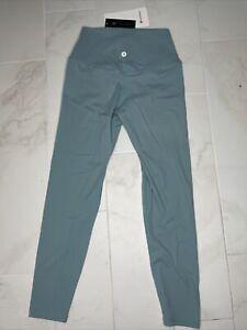"""Lululemon Align Pant 25"""" Turquoise Size 6"""