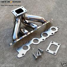 Stainless Steel Turbo Exhaust Manifold Header FOR Suzuki Swift GTi G13B Engine