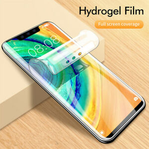 Curved Screen Protector For Oneplus 9 Pro 8 8t Nord N10 5G 7T Pro Hydrogel Film