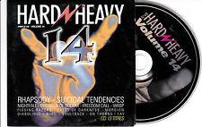 CD CARDSLEEVE COLLECTOR 14T RHAPSODY/SUICIDAL TENDENCIES/NIGHTFALL/MORGION/NIHIL