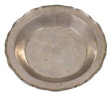 18thC Spanish Colonial Silver Deep Dish