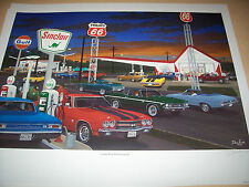 Dave Snyder Car Art Looks and Performance Chevelle LS6 454 SS 396 L77 283 Malibu