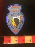 POKAGON DISTRICT ANTHONY WAYNE COUNCIL Boy Scout BSA Patch - Indian 84V9