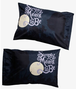 Disney The Nightmare Before Christmas Jack Sally Meant To Be Pillowcase 2 Pack