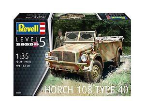 Horch 108 Type 40 03271 Maßstab: 1:35, Revell Militär Bausatz 03271